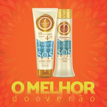 Combo Haskell SOS Verão Shampoo + Leave-in